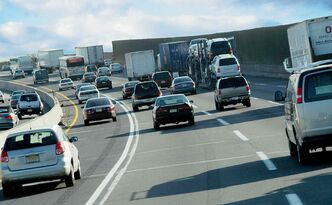 The noise created by seeming endless traffic is driving our columnist crazy.