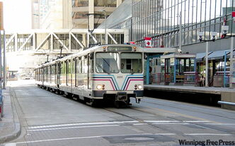 Mayor Sam Katz wants Winnipeg to have a light-rail system 'so we're just like Calgary.'