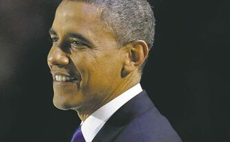 U.S. President Barack Obama will be sworn in Monday.