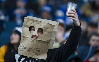 The patience of Blue Bombers fans was supremely tested during the club's disastrous debut season at Investors Group Field.