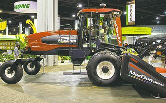 MacDon equipment