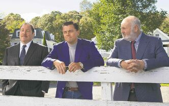 Rob Reiner (right, with Jon Favreau, left, and Leonardo DiCaprio) is a respected director in his own right, but he jumped at the chance to work with Martin Scorsese.