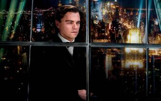 Leonardo DiCaprio stars as Jay Gatsby in The Great Gatsby.