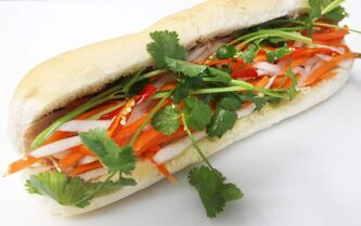 Banh Mi (cold cut ) sub from Khanh Hoa