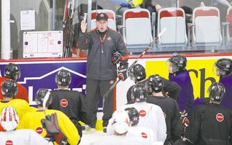 Team Canada coach Steve Spott was an assistant in 2010 when Canada lost to the U.S. in overtime. He's out to redeem himself this time around.