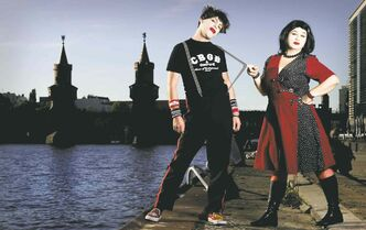 Brother-sister rock duo bring their punky party to the Pyramid
