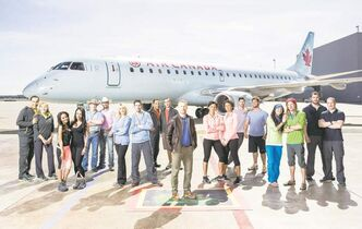 The first episode of Amazing Race Canada airs on CTV tomorrow.