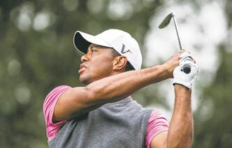 Tiger Woods, playing in his tournament Friday, spent what is believed to be $4 million of his own money to keep the tourney going after a sponsor pulled out.