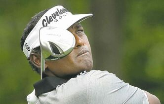 Vijay Singh is making a run in Hawaii.