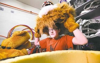 Noah�s outgoing personality and offbeat sense of humour made him the perfect fit for portraying Arthur the Lion, Glenlawn�s official mascot.