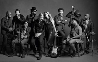 The The Tedeschi Trucks Band is seen in an official photo on their website.