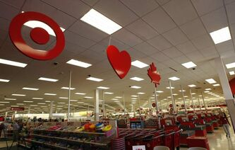 The new Target store in Kildonan Place.
