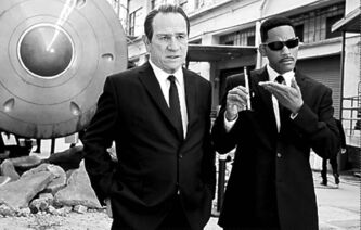 UNDATED -- This  is a May 2012 handout from Sony.   Tommy Lee Jones (left) and Will Smith star in Columbia Pictures MEN IN BLACK 3.  HANDOUT PHOTO: Sony.  For Jay Stone (Postmedia News).