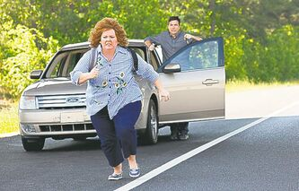 Identity  crisis:  Bateman  gives  McCarthy  a head  start  in Identity  Thief.