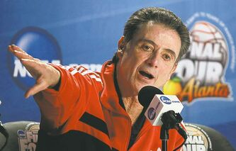 Louisville head coach Rick Pitino: 'family' affair