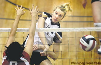 Ashley Voth was '06-'07 Canada West female rookie of year.