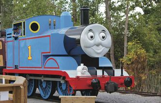 A replica of Thomas the Tank Engine is coming to the Prairie Dog Central Railway, with rides available on Aug. 16, 17, 23 and 24 from the railway depot off Sturgeon Road.