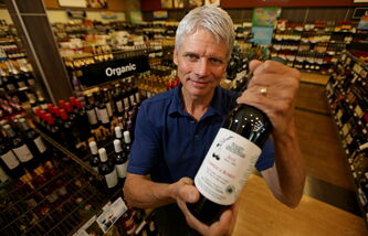 Grant Rigby, owner of Rigby Orchards in Killarney, is the province's only organic liquor producer. The province says organic-wine sales are growing at more than 10 per cent annually.