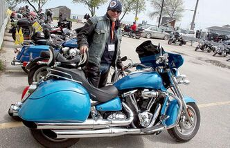 Ride For Dad co-chair Ed Johner  is a prostate cancer survivor who credits early detection with saving his life.