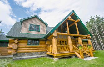 The look of a log house is very appealing but its construction requires precision and long-term maintenance is also essential.