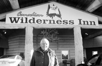 Western Manitoba motel-builder Irvin Goodon in front of the Boissevain inn he built in 2004. He makes sure his projects are high-quality.