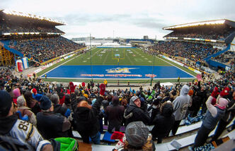 The Free Press set up multiple cameras to capture time-lapse photos at the final Winnipeg Blue Bombers game at Canad Inns Stadium on November 3, 2012.