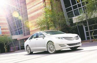 In fourth place, the 2013 Lincoln MKZ Hybrid.