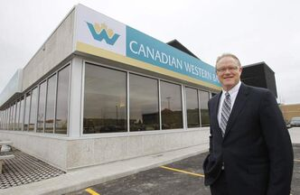 Chris Fowler, the recently appointed president of the Canadian Western Bank, says the CWB uses a targeted  approach and avoids competing with the bigger Canadian banks.