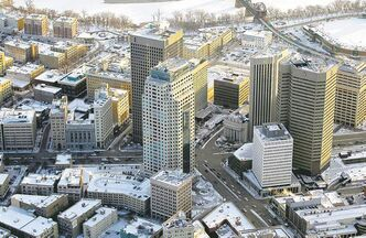 BORIS MINKEVICH / WINNIPEG FREE PRESS ARCHIVES Downtown's overall rebirth is affecting the office-space sector.