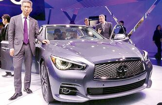 Infiniti's global design director, Kogi Nagano.