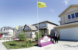 WAYNE GLOWACKI/WINNIPEG FREE PRESS  The official opening of the 26th Annual Parade of Homes was held on Shorehill Drive in Royalwood on Friday. It  runs till Oct 1. With 84 homes to view it is the largest parade of homes to date. see guide for more info. Sept 8     2006