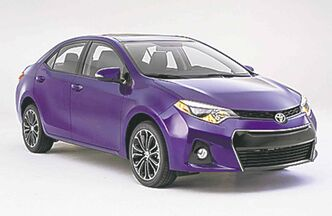 The Toyota Corolla (above) and Ford Focus: Which one really is the world's No. 1 seller?