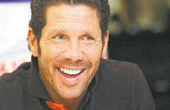 Atletico Madrid boss Diego Simeone.