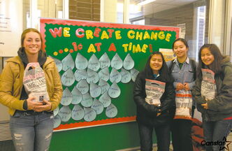 Students at John Taylor Collegiate have raised money for clean water initiatives with penny drives — among other things.
