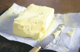 A dab of butter will prevent cheese from hardening in the refrigerator.