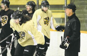 Bisons coach Mike Sirant has seen his team come a long way over the past few weeks.
