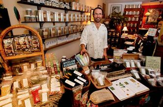 Chad Cornell provides natural substances rather than chemicals at his Wolseley shop.