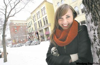 Samantha Hill loves the Exchange District, especially  during the annual Fringe Festival.