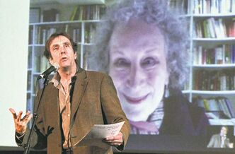 RWB artistic director André Lewis talks via Skype to Canadian author Margaret Atwood.