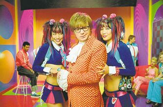 Mike Myers stars as Austin Powers.