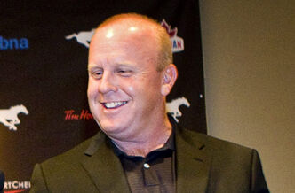 Danny McManus was inducted into the CFL Hall of Fame week in 2011.