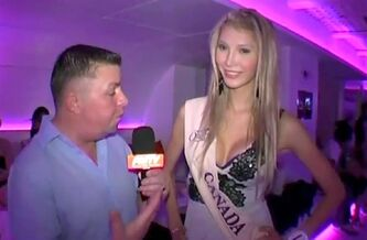 Jenna Talackova of Vancouver is shown in a video interview at the 2010 Miss International Queen Competition in Thailand. The transgendered blond kicked out of the Miss Universe Canada pageant is urging her supporters to sign an online petition calling for her reinstatement. THE CANADIAN PRESS/HO, Miss International Queen via YouTube