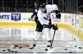 No decision has yet been made on whether Mark Scheifele will remain with the club or return to Barrie of the OHL.