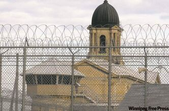 Inmates at Stony Mountain Institution are on strike over reduced wages.