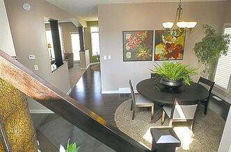 Homes. 10 Elsey Road in River Park South. Dining area at right.Qualico Homes' single family sales manager Dale Penner.  Todd Lewys story  (WAYNE GLOWACKI/WINNIPEG FREE PRESS) Winnipeg Free Press  Aug. 8  2012