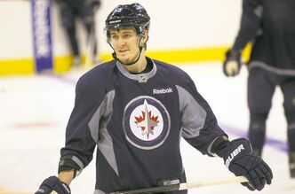 Mark Scheifele says he's working on his leadership qualities in order to get another crack at the NHL.