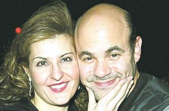 Vardalos and her husband, Ian Gomez.