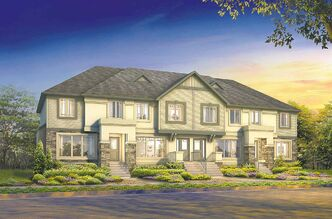 This townhome project in Waterford Landing, north Winnipeg's newest emerging community, will start construction in mid-March.