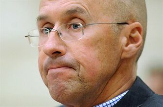 Kevin Page, Parliamentary budget officer, is shown in Ottawa on April 26, 2012. A new report from Canada's budget watchdog suggests the Harper government may spring a good news deficit surprise just in time for the next federal election.THE CANADIAN PRESS/Sean Kilpatrick