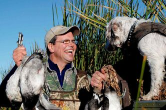 MWF president Rob Olson wants to ensure there will be waterfowl to enjoy for generations to come.